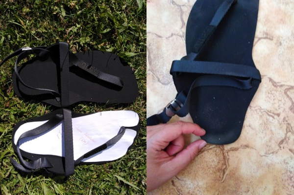 Recenze Nallu sandálů